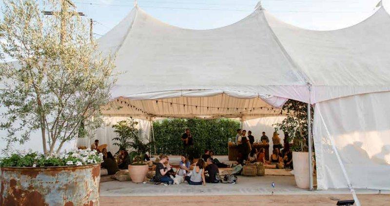 The Pavillon Tent  space photo