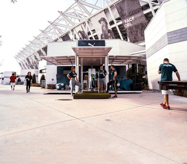 Puma Palmeiras Pop-Up Activation