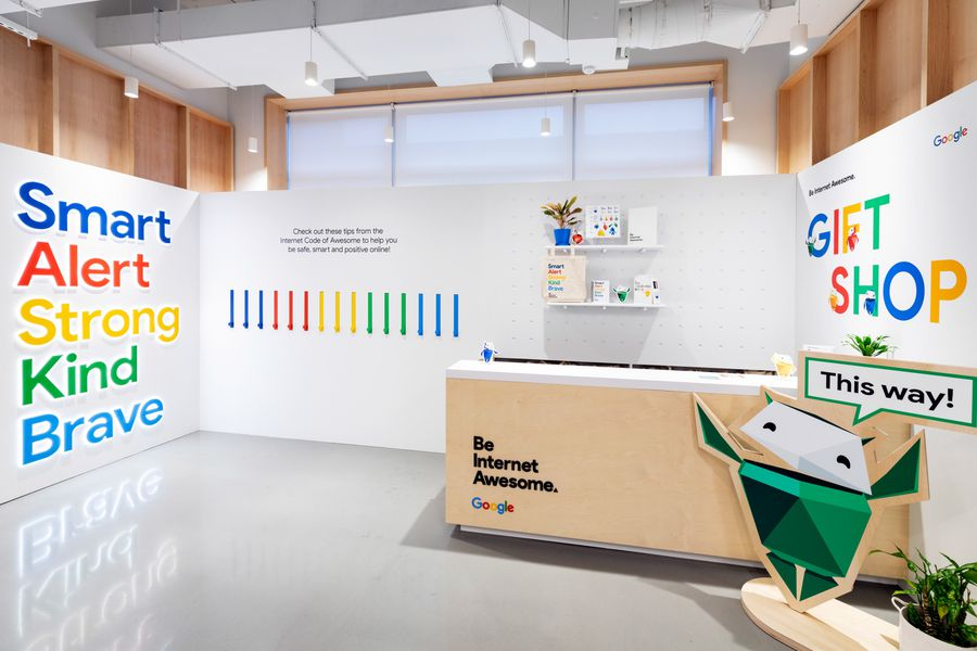 Google 'Be Internet Awesome' Activation