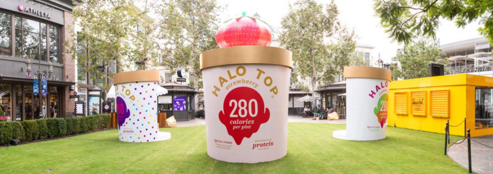 Halo Top Creamery Store Opening