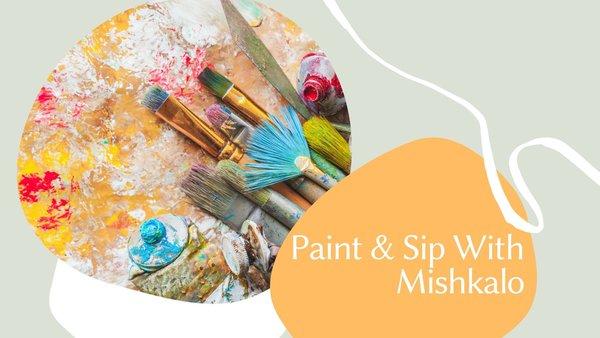 Virtual and Hybrid Paint & Sip (Byob) service photo