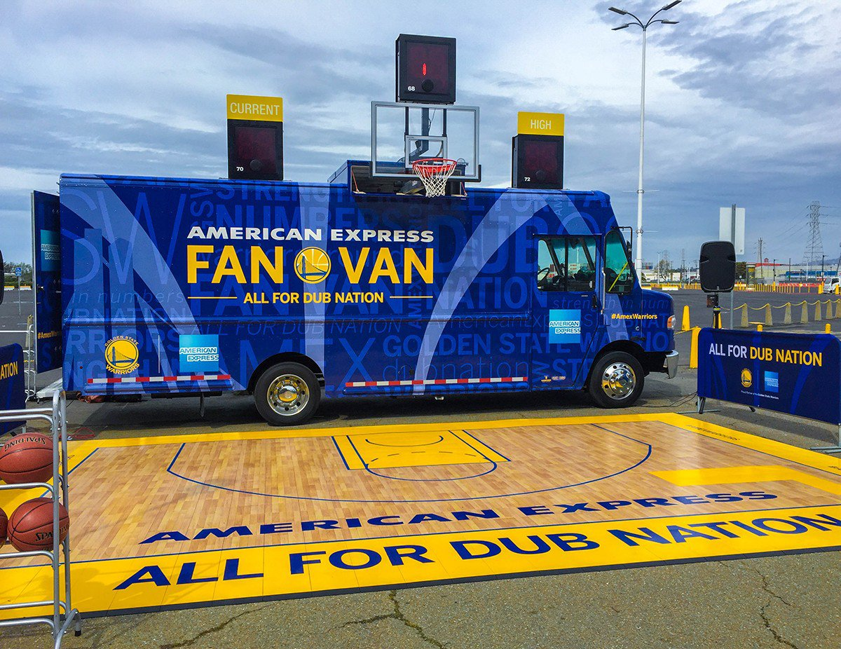 American Express Fan Van cover photo