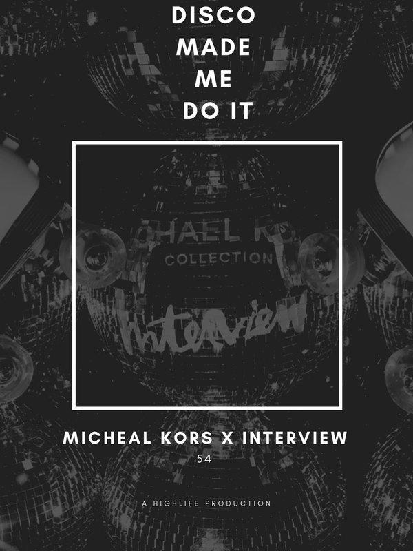 Michael Kors x Interview Magazine  photo Disco Made me Do it.jpg