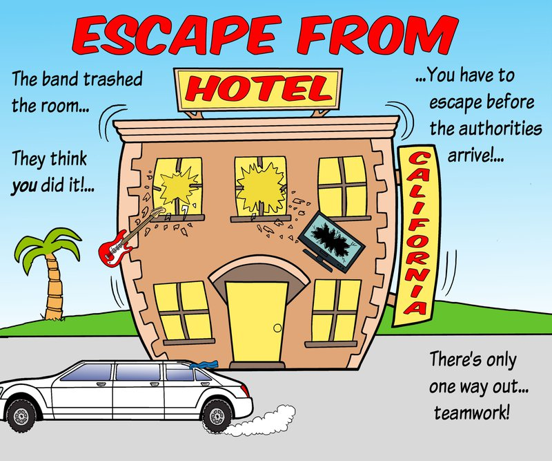 Escape From Hotel California
