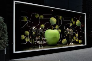 Bloomingdale's Window for Paul Smith  photo Paul Smith Apple Harlequin.jpg