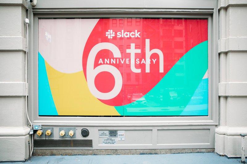 Slack 6th Anniversary cover photo