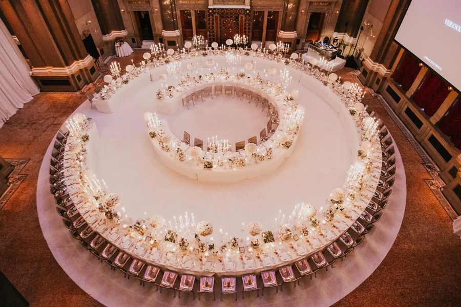 The Ultimate Dinner Party for Vera Wang
