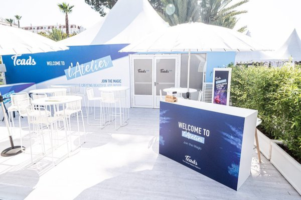 Teads at Cannes Lions  cover photo