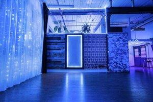 THAT Toronto Studio - Event Venue Rental photo Electric-Blue-Glowing-Lights-THAT-Toronto-Studio.jpg