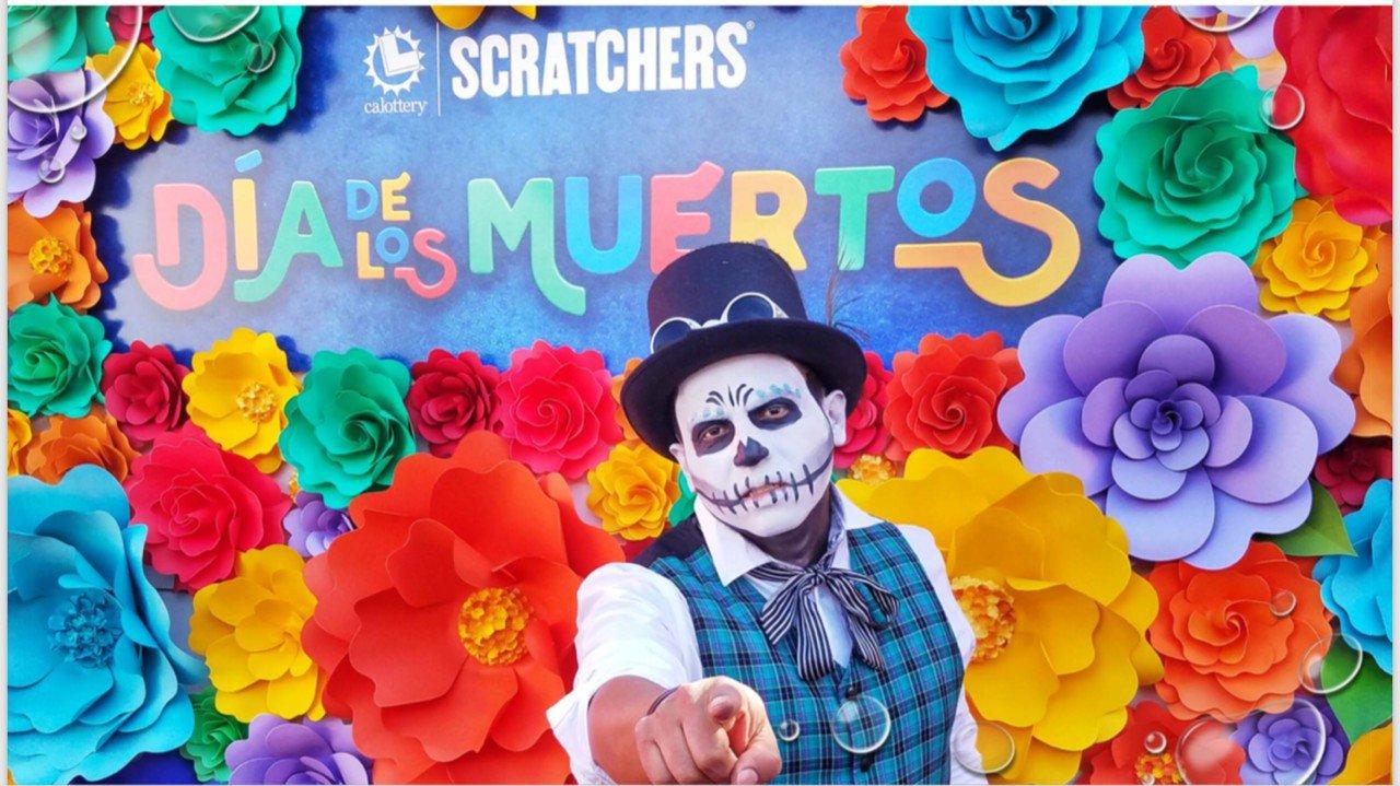 Dia De Las Muertos photo California Lottery Wall 4.jpg