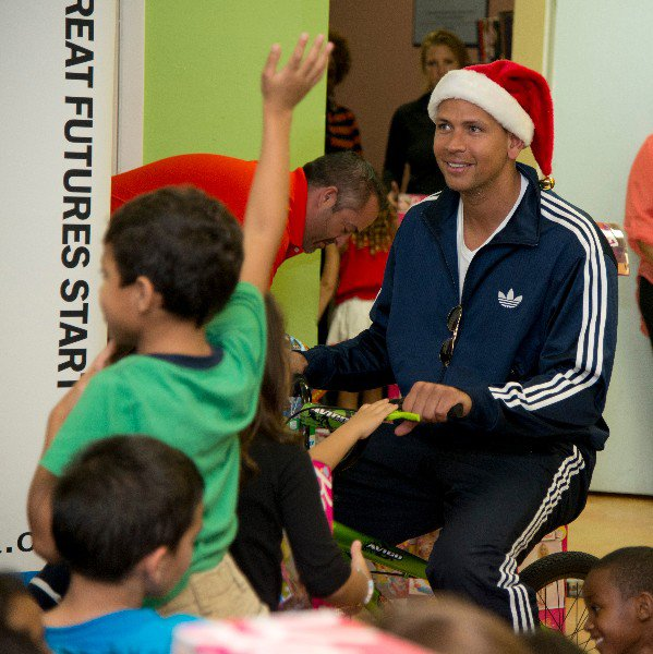 A-Rod at Boys & Girls Clubs cover photo