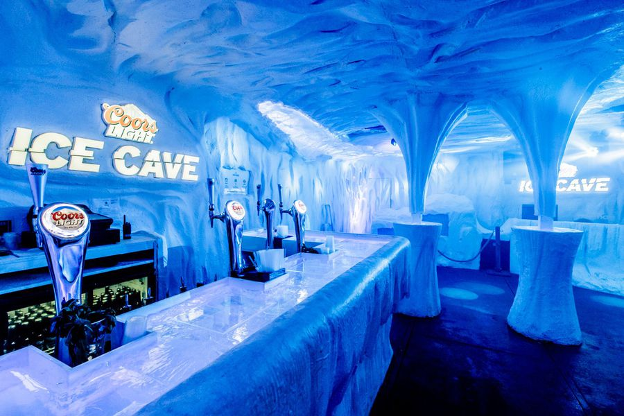 Coors Light 'Ice Cave'