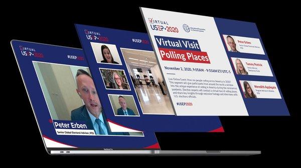 2020 Virtual U.S. Election Program cover photo