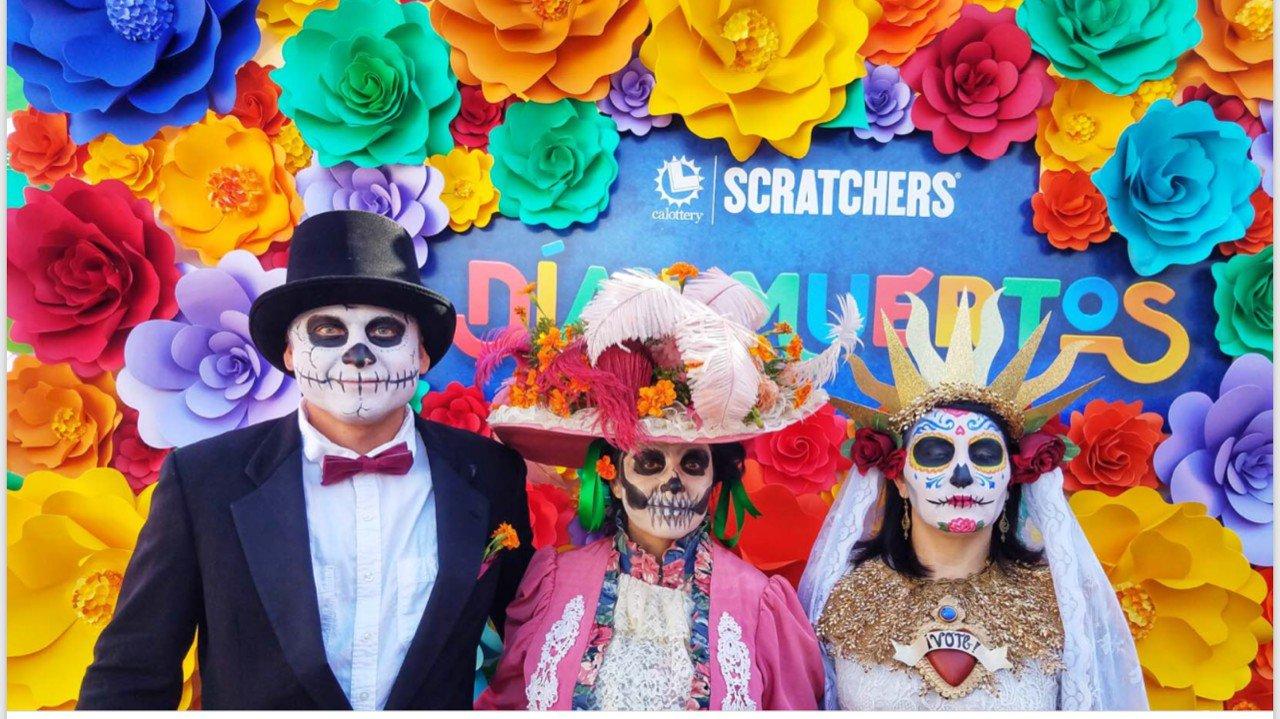 Dia De Las Muertos photo California Lottery Wall 5.jpg