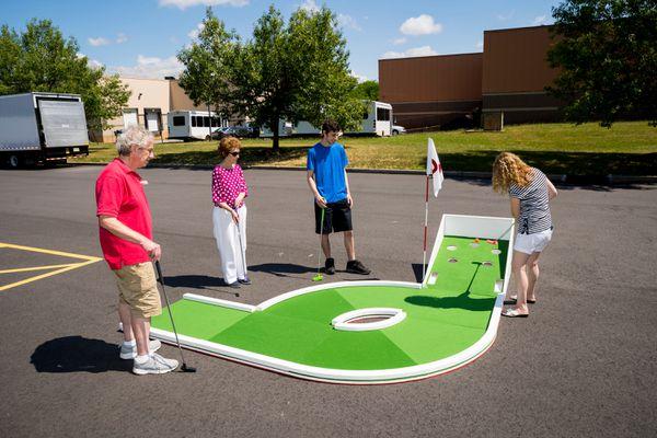Authentic Putt Putt Golf: Mini-Golf-Rental-NJ-Green-Course-Ball-Return-Obstacle-Hole-9.jpg