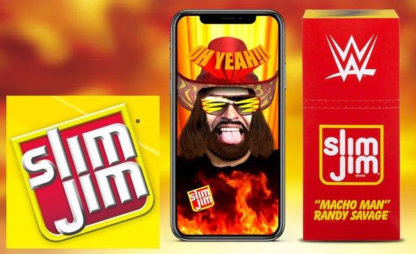 Slim Jim Macho Man Launch
