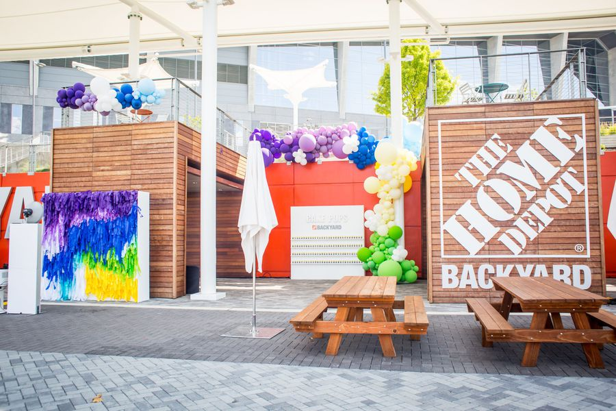 Home Depot Backyard 1st Birthday