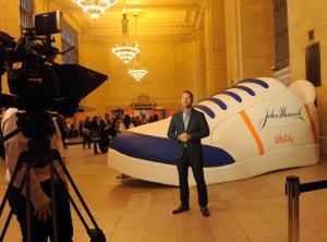 GIANT Sneaker - Grand Central Station photo john hancock shoe sneaker.jpg