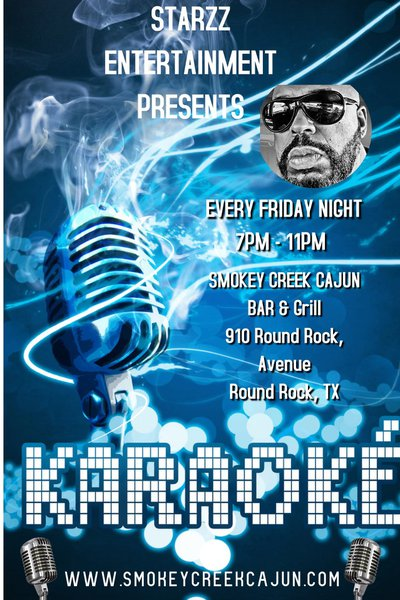 Smokey Creek Cajun Blue Room Karaoke cover photo