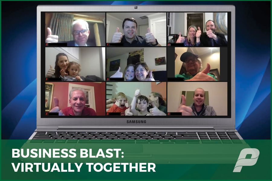 BUSINESS BLAST:  VIRTUALLY TOGETHER