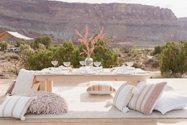 Moab Desert Sunset Picnic