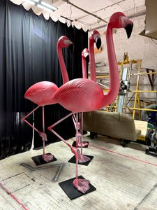 Oversized Flamingo Sculpts  photo Flamingos 3.jpg