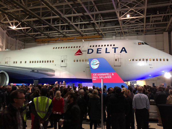 Delta Airlines' B747 Farewell Tour cover photo