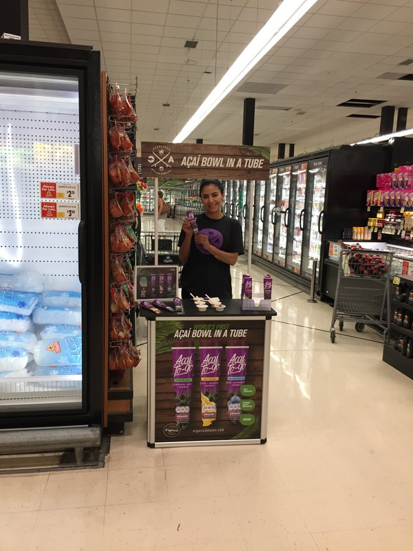 Acai to Go In-Store Demo