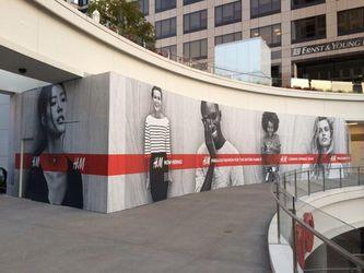 H&M Store Graphics