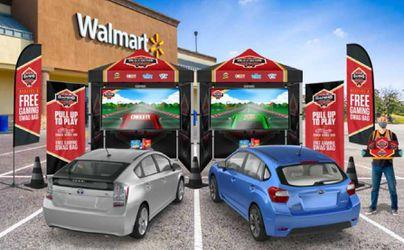 Walmart + Kellogg's Drive-In Activations