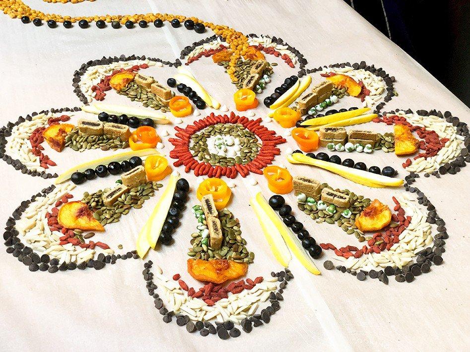 Food Mandala Edible Art  photo Foodmandala2.jpg