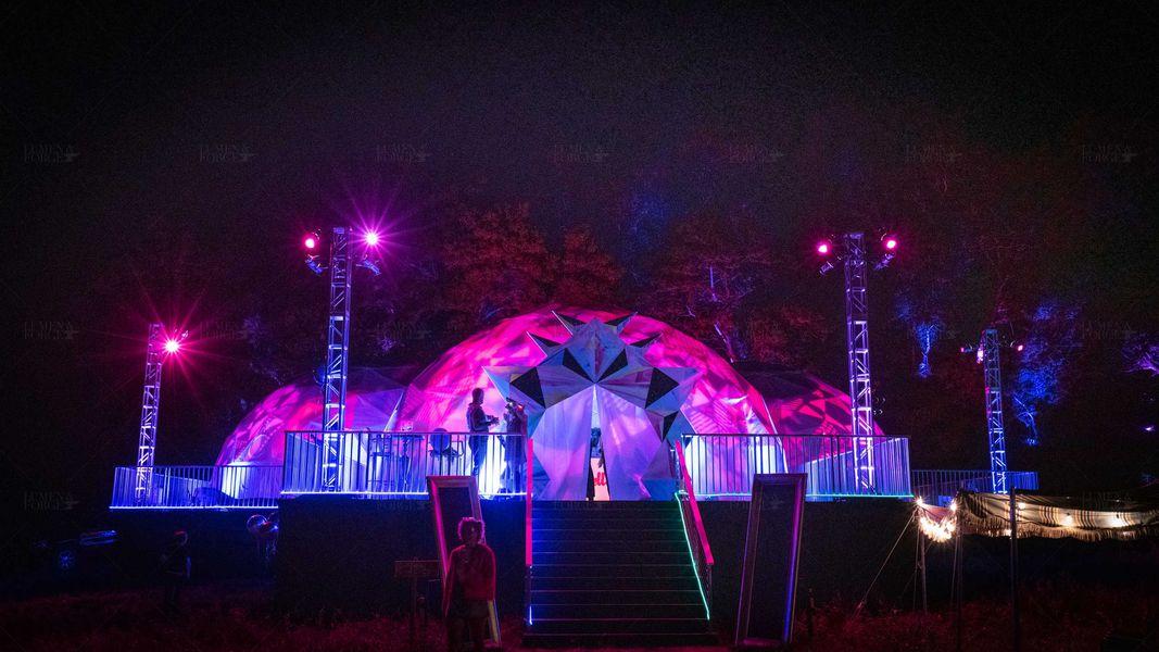 Big Sur 360 Dome Private Event