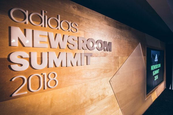 Adidas Newsroom Summit 2018 cover photo