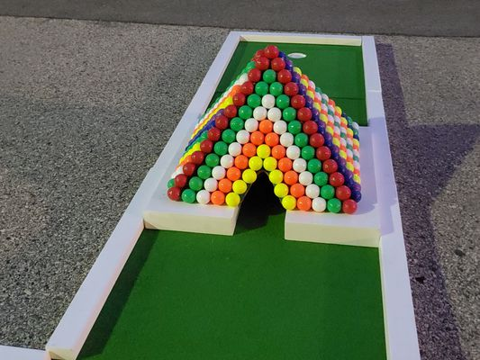 Authentic Putt Putt Golf: Mini-Golf-Rental-Philly-Rainbow-Pyramid-Obstacle.jpg