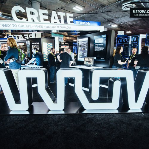 Arrow Electronics 2019 CES Activation photo 1555688924451_Arrow-CES-desk.jpg