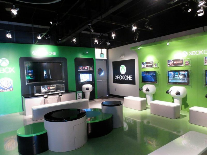 Game Room at Lego Land
