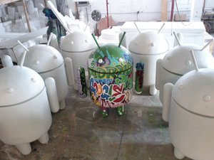 Google Headquarters -Various Androids photo IMG_20111108_112827.jpg