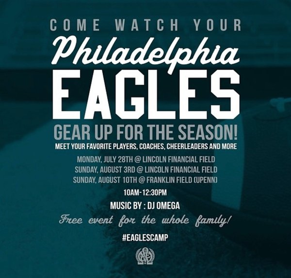 EAGLES Training Camp and Season Tailgate cover photo
